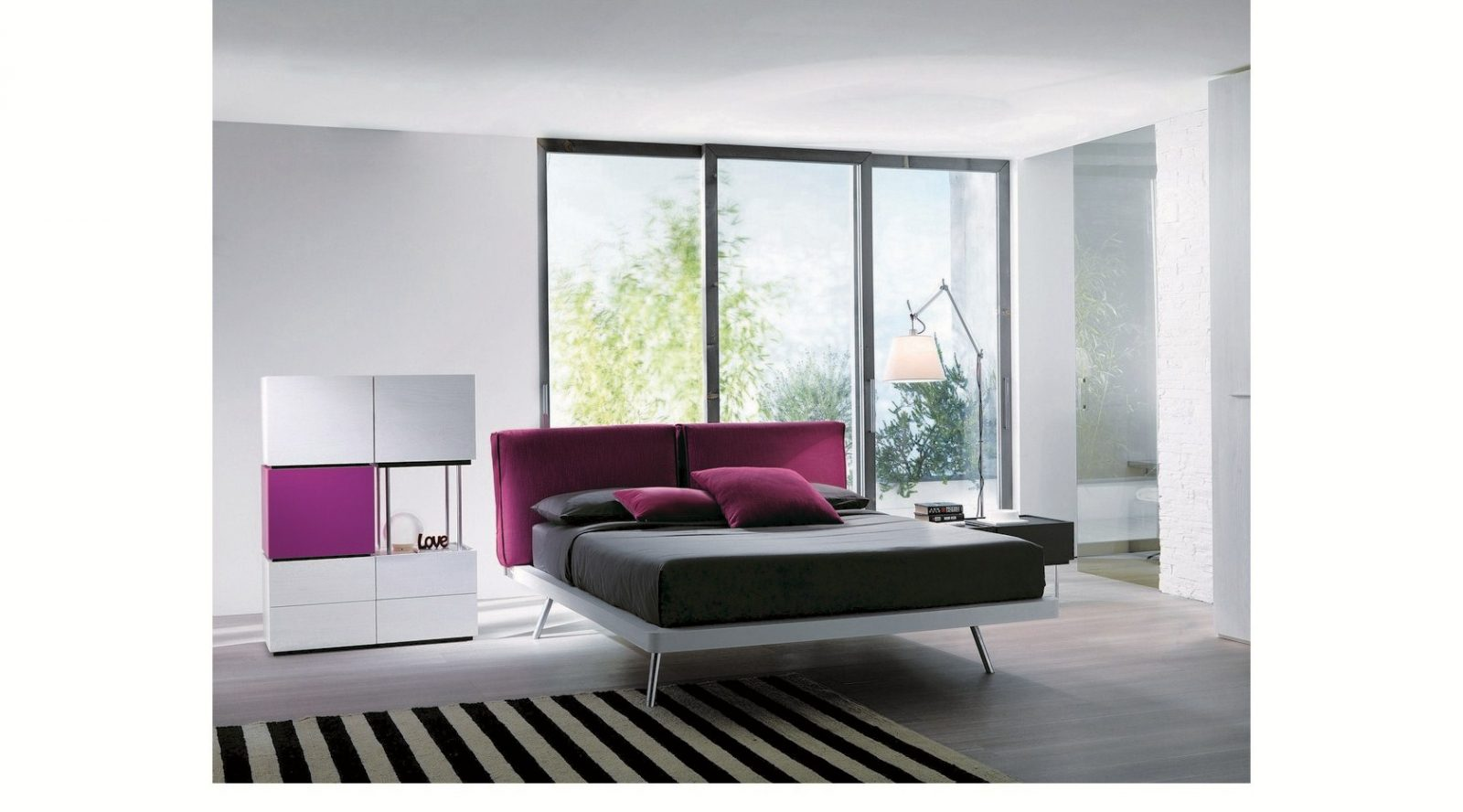 Letto 1|Time|Testiera Soft