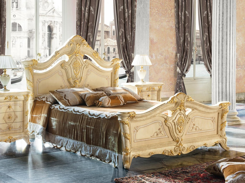 Letto Madame Royale notte